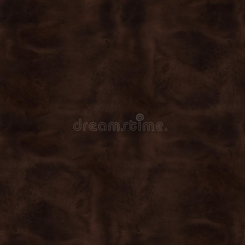A seamless old paper texture: a sheet of paper toned and painted with coffee and watercolor to look like old parchment royalty free stock image