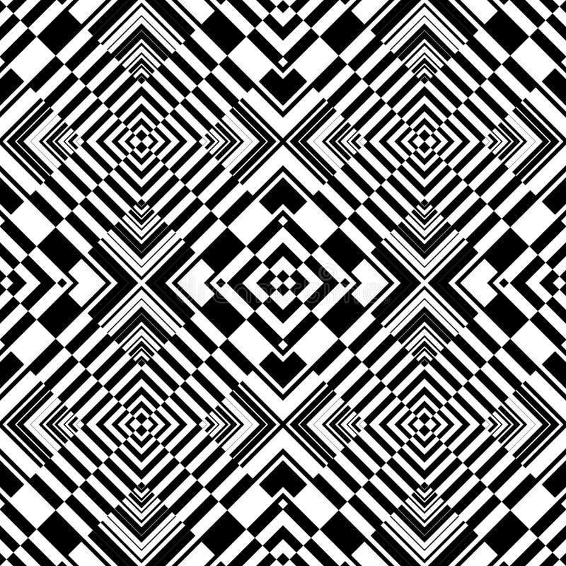 Download Seamless Op Art Geometric Pattern. Stock Vector - Image: 23290715