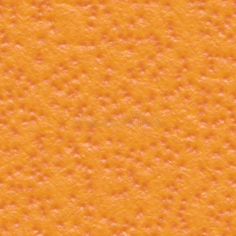 Seamless orange skin texture. Background vector illustration