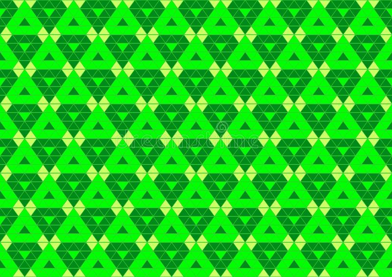 Download Techno Geometric Oriental Ornamental In Neon Green And Soft Yellow Colour Seamless Pattern Background Wallpaper