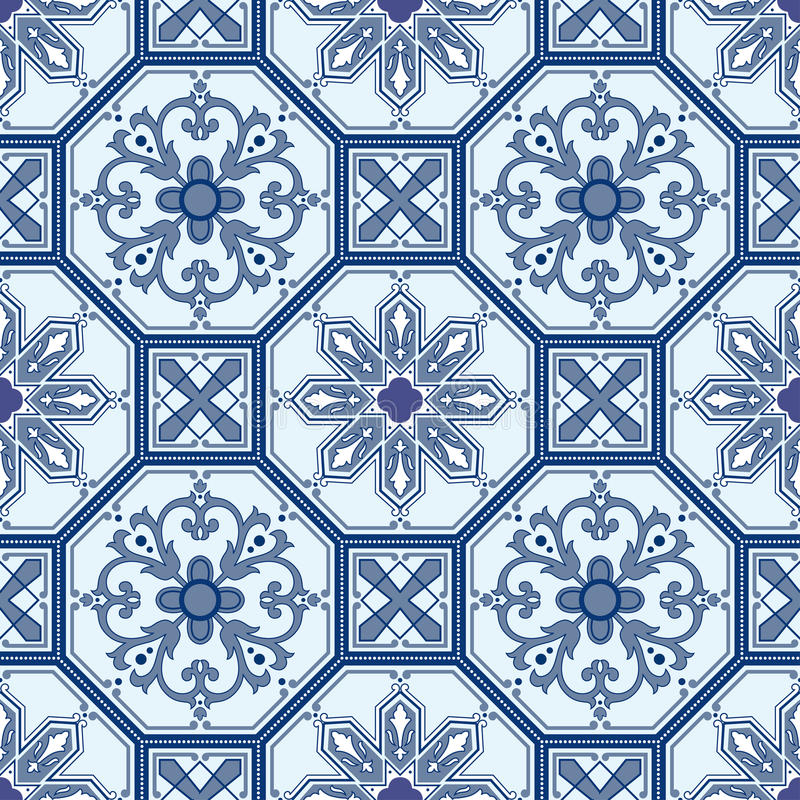 Seamless Oriental Pattern  Background Royalty Free Stock Image