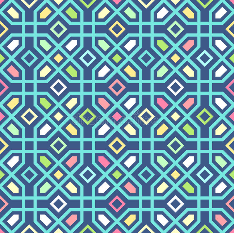 Free Seamless Oriental Pattern. Vector Background Stock Photos - 60854663