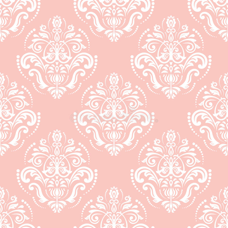 Seamless Oriental Vector Background royalty free illustration