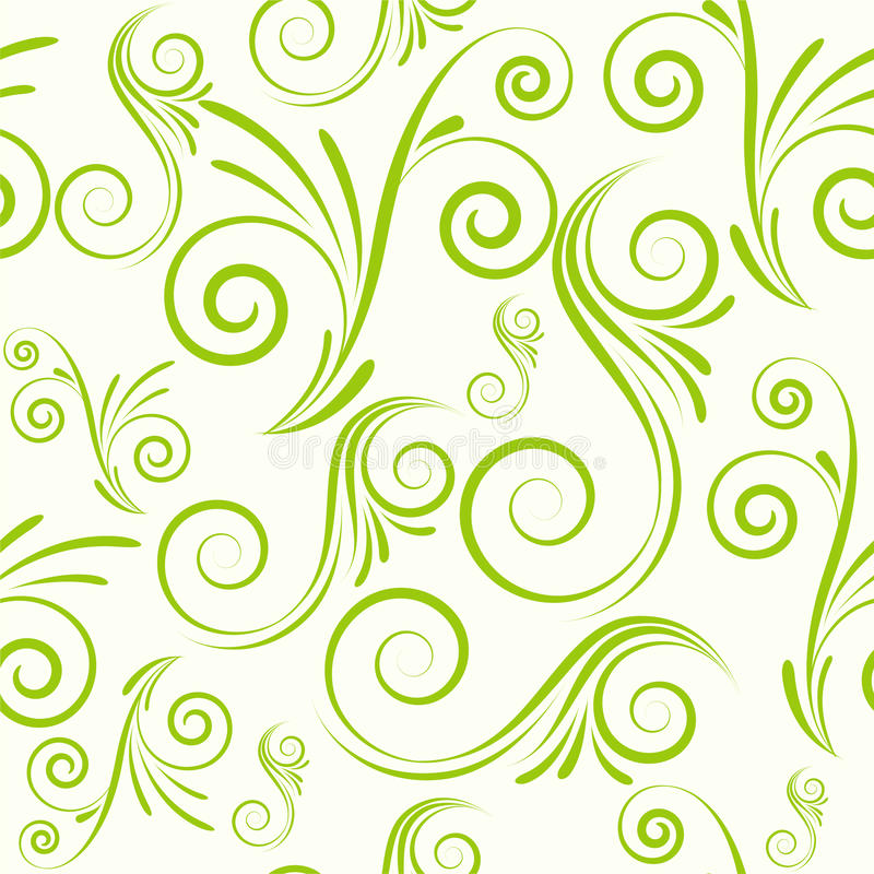 Download Seamless Ornament From Swirls Stock Vector - Image: 19230088