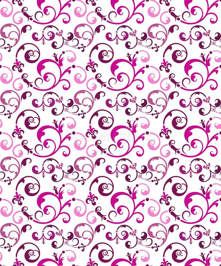 Download Seamless Ornament Wallpaper Stock Vector - Illustration: 24942739