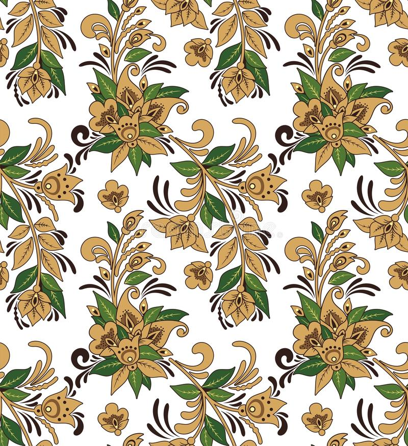 Free Seamless Ornament Wallpaper Stock Photography - 29209892