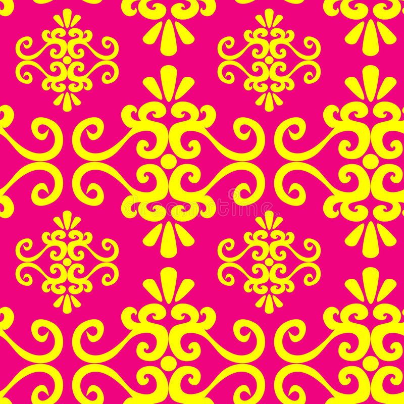 Free Seamless Ornament Wallpaper Royalty Free Stock Images - 4020819