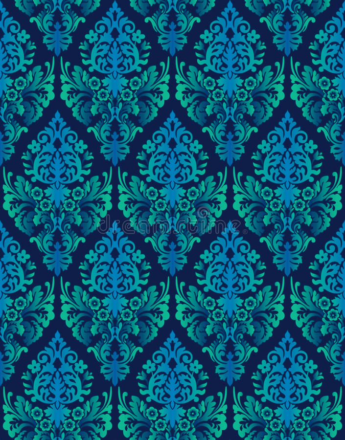 Download Seamless Ornamental Luxury Vector Background Stock Vector - Illustration of textile, royal: 18781437