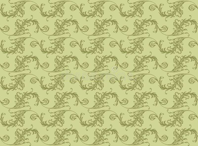 Seamless Ornamental Pattern stock illustration