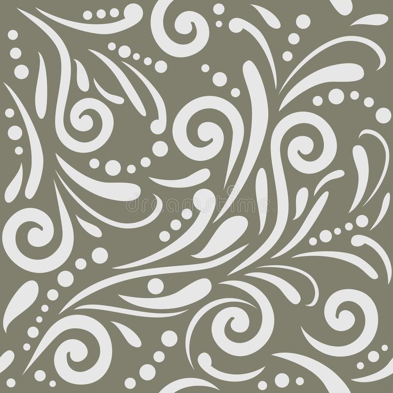 Seamless ornamental pattern for design royalty free stock photo