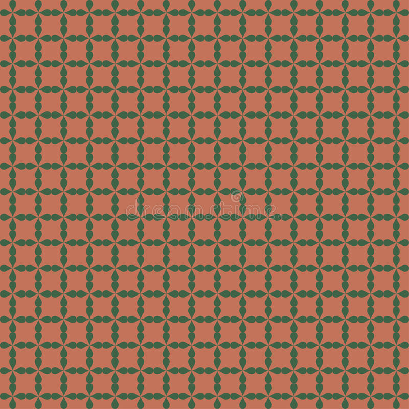 Seamless ornamental pattern. Endless texture can be used for printing onto fabric, paper or scrap booking, wallpaper, pattern fills, web page background vector illustration