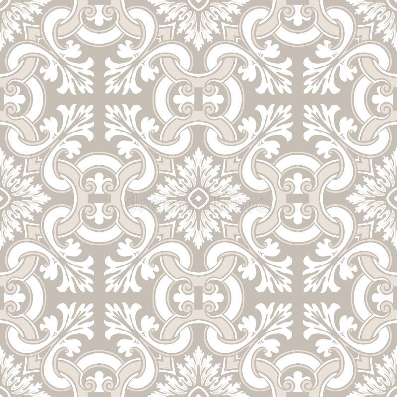 Seamless Ornamental Tile Background Stock Vector