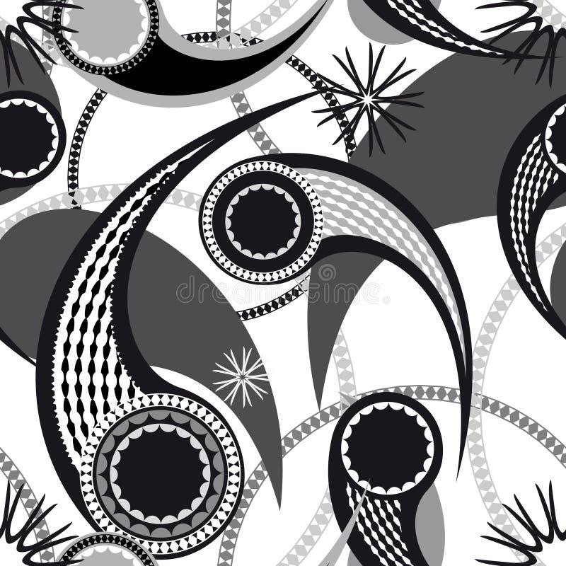 Seamless Paisley Pattern Royalty Free Stock Image