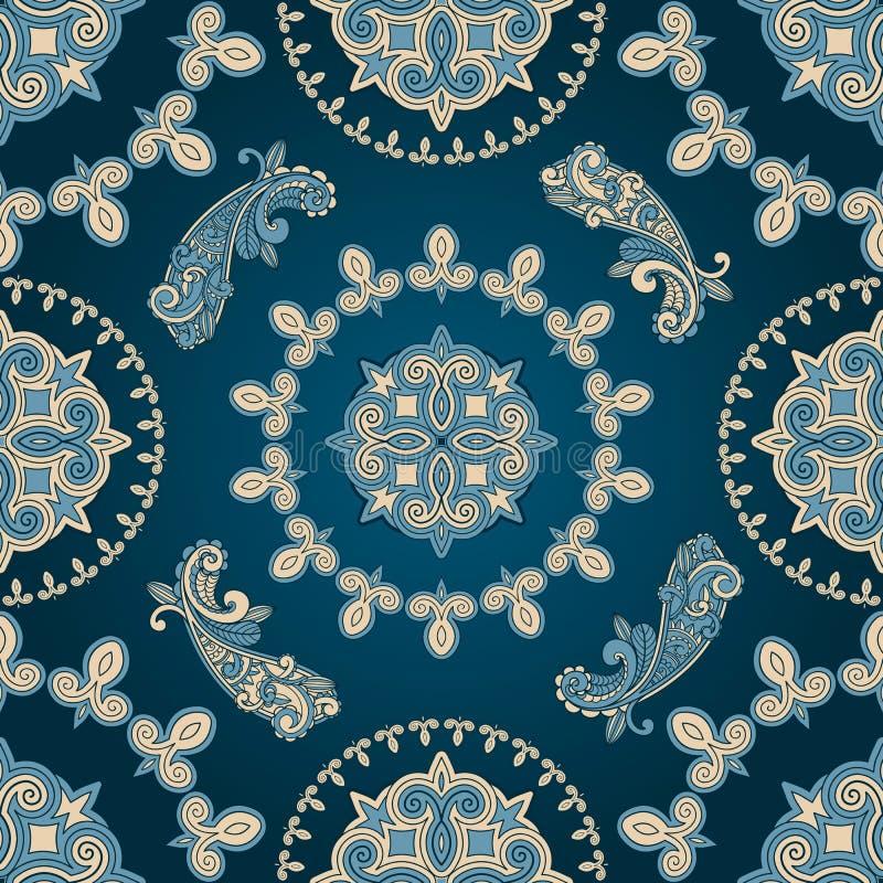 seamless paisley pattern stock photo
