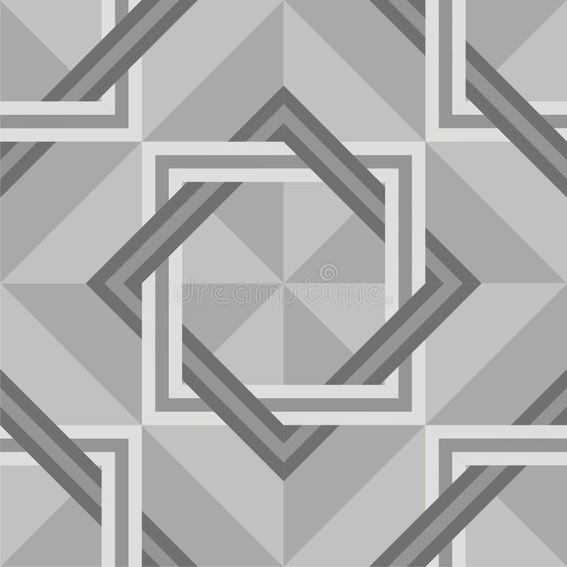 Seamless parquet or marble texture vector royalty free illustration