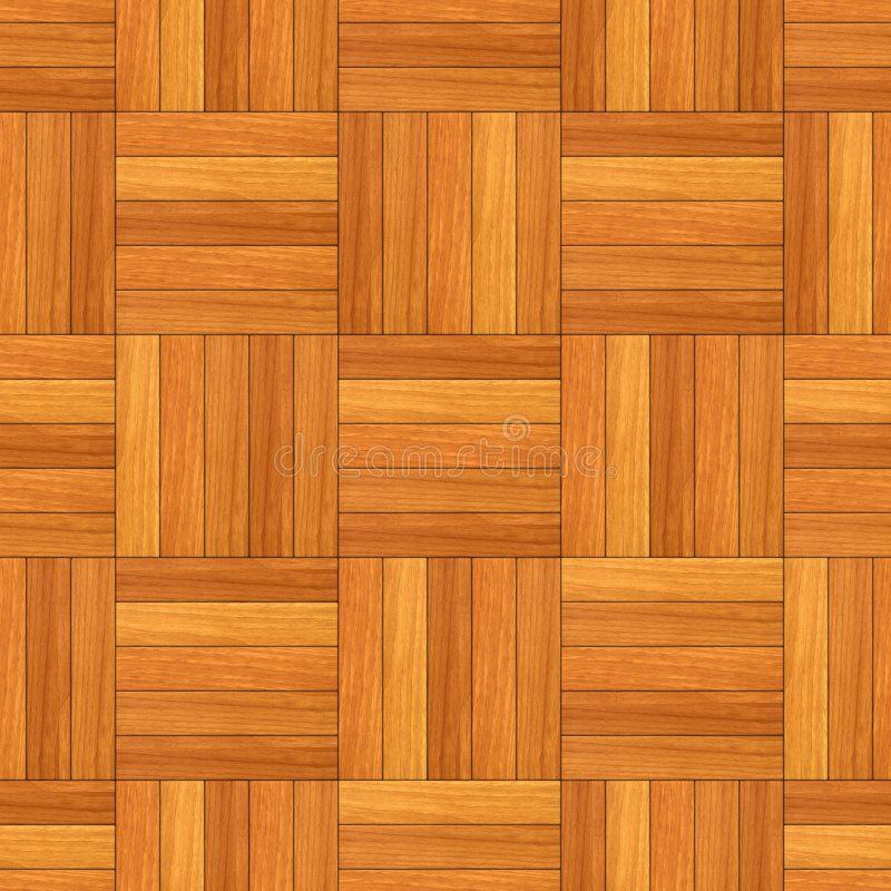 Seamless Parquet Texture Stock Illustration Illustration