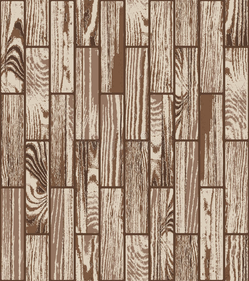 Seamless parquet texture royalty free illustration