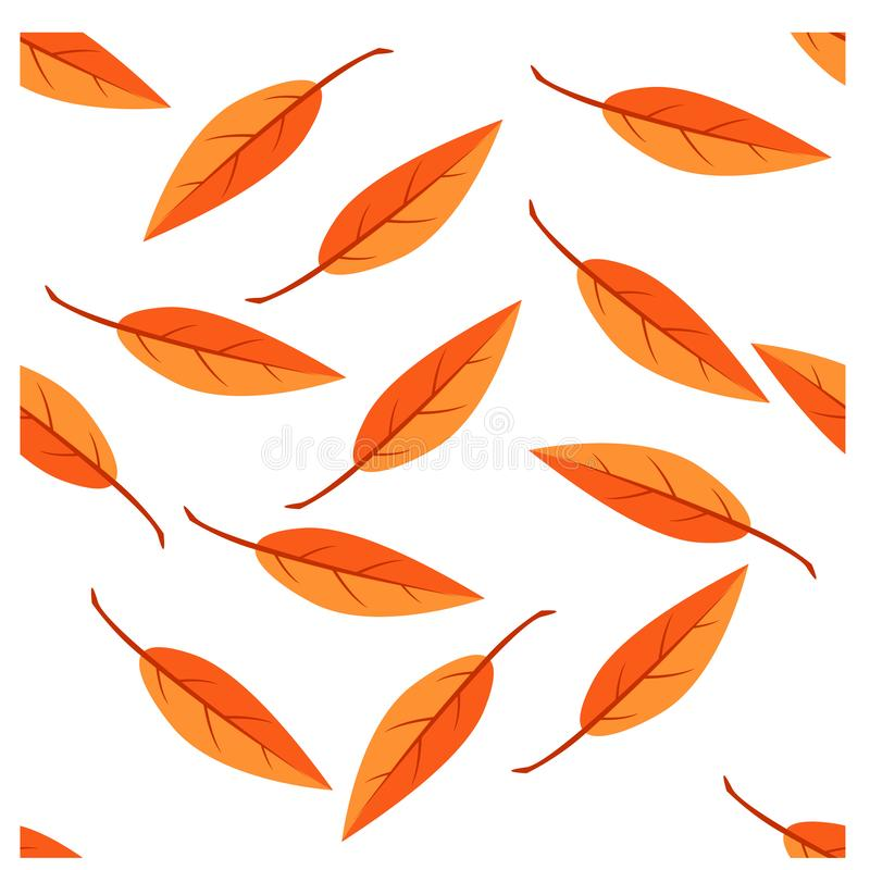 simple seamless pattern a leaf design vector royalty free stock photography