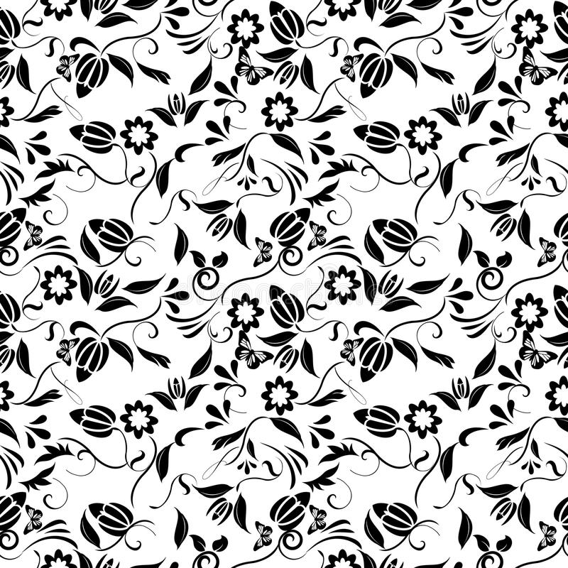 Download Seamless pattern. stock vector. Image of textile, backgrounds - 15695348
