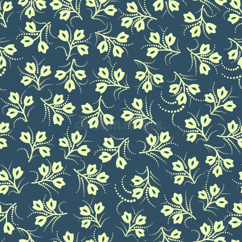 Download Seamless pattern stock vector. Illustration of leaf, flourish - 22511457