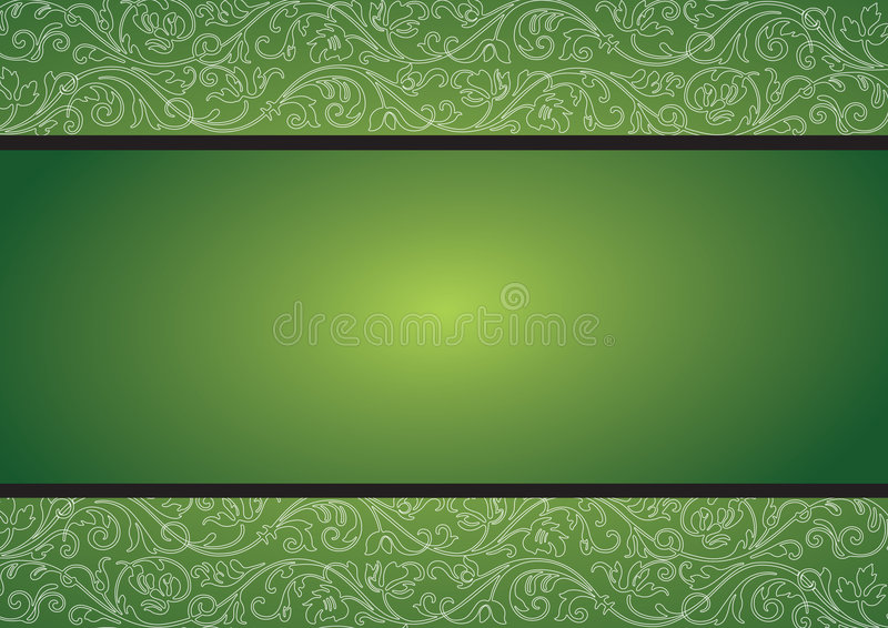 Seamless pattern. Green seamless pattern background, vector