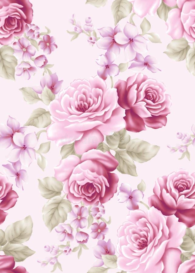 Seamless pattern A002 royalty free illustration