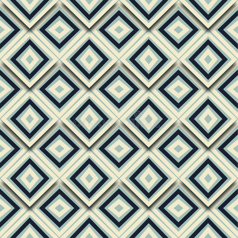 Seamless Pattern Abstract Geometric Mosaic Tiled background Vector vector illustration
