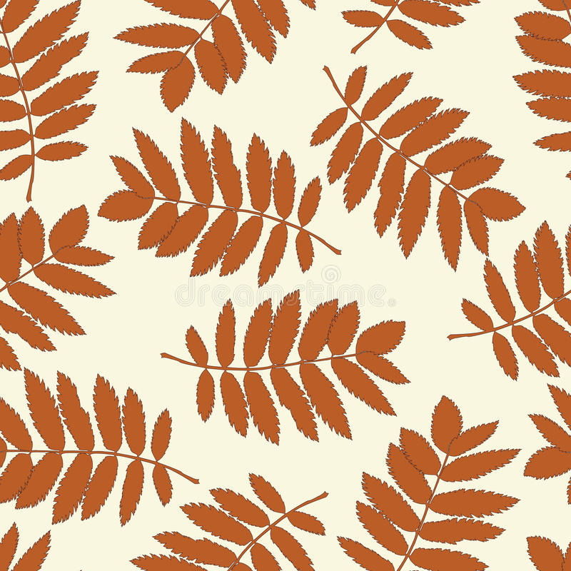 Download Seamless Pattern With Autumn Leaves Royalty Free Stock Photos - Image: 26084068