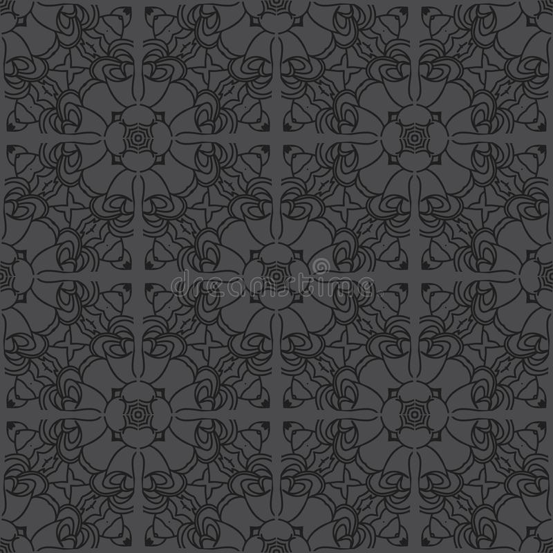 Seamless pattern background in black graded tone royalty free stock photography