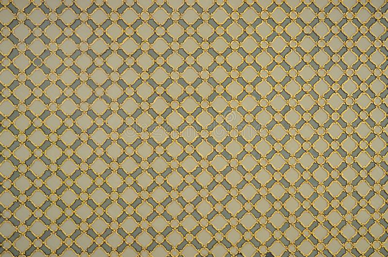 Seamless pattern, based on traditional wall and floor tiles Turkish style. stock photography