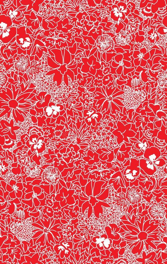 Seamless pattern beautiful decorative vector lace. Seamless pattern beautiful elegant decorative ornate vector lace stock illustration