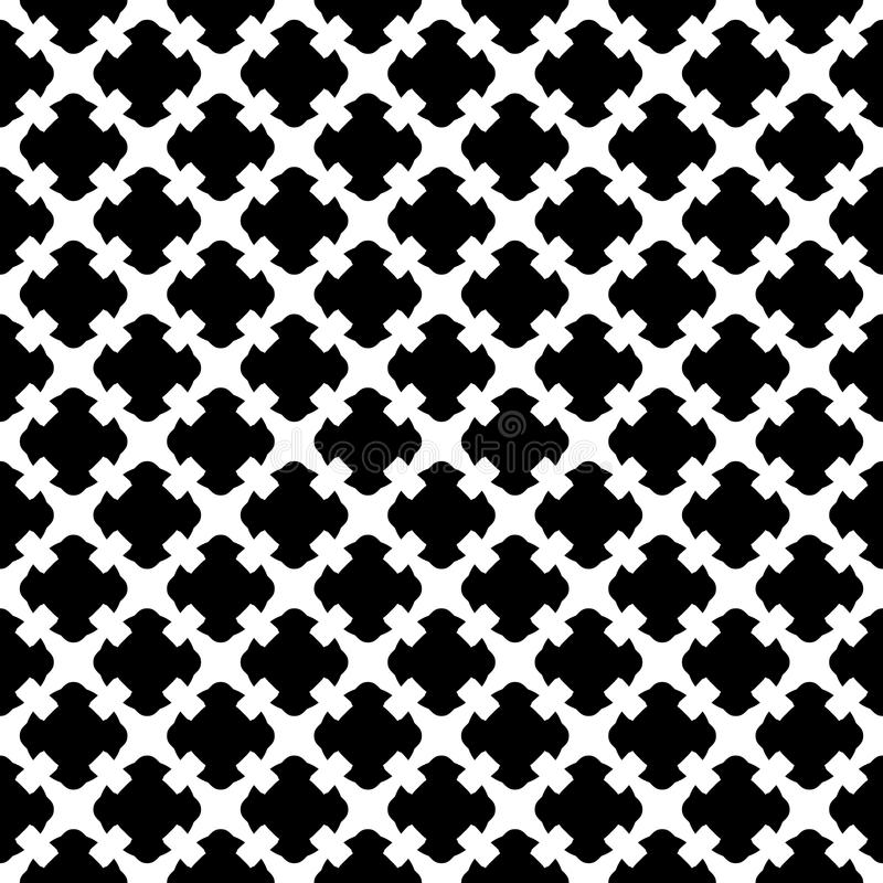 Download Seamless Pattern Black White Gothic Texture Stock Vector