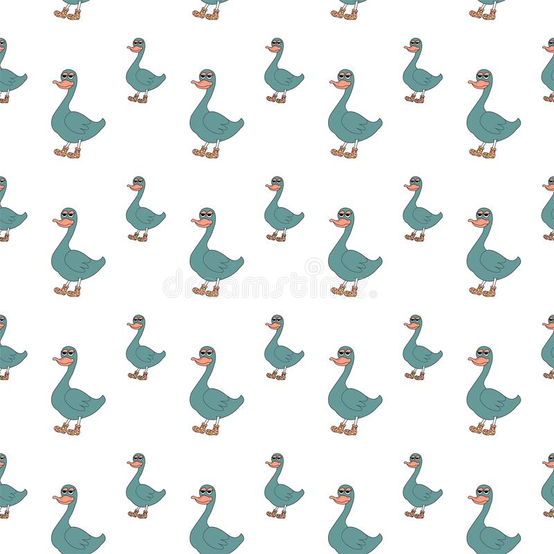Duck Pattern Stock Vector Illustration Of Collection