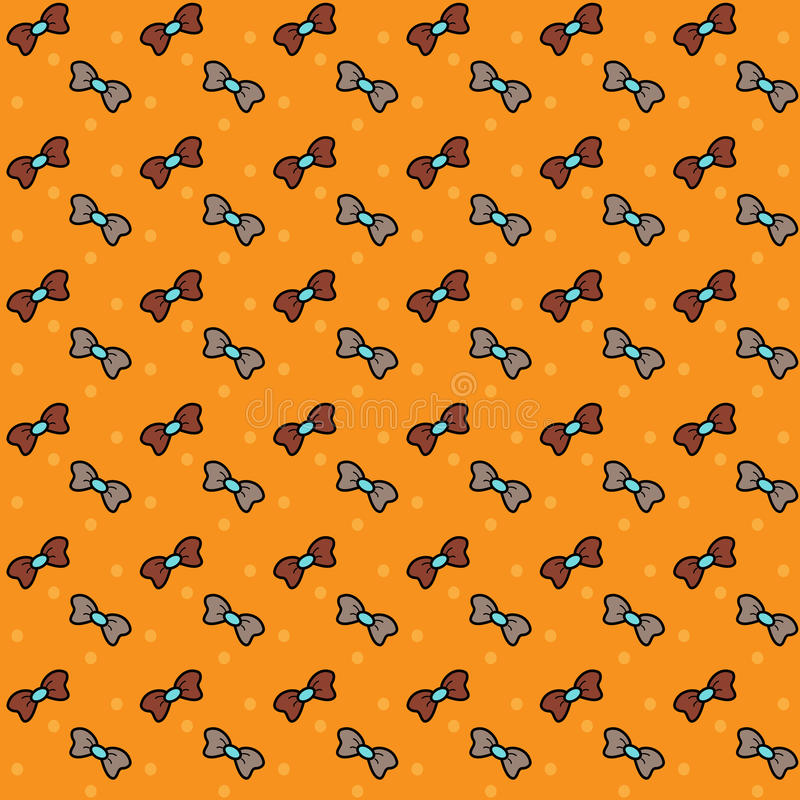 Download Seamless pattern. Bows. stock illustration. Image of retro - 40600173