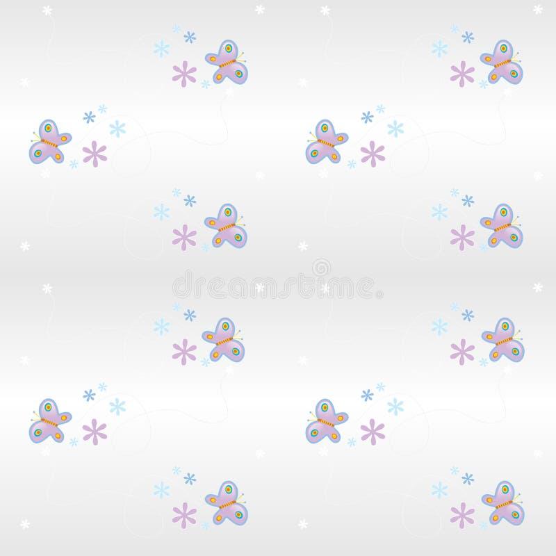 seamless pattern- butterfly stock photography