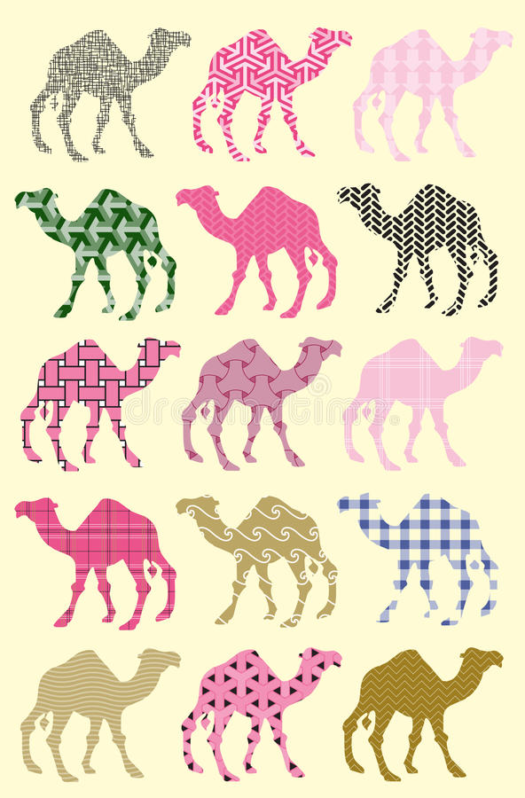 Download Seamless Pattern With Camels Stock Vector - Image: 17255009