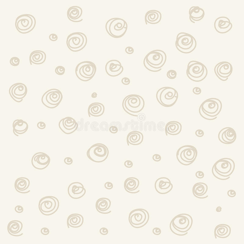 Seamless pattern. Casual polka dot texture stock illustration
