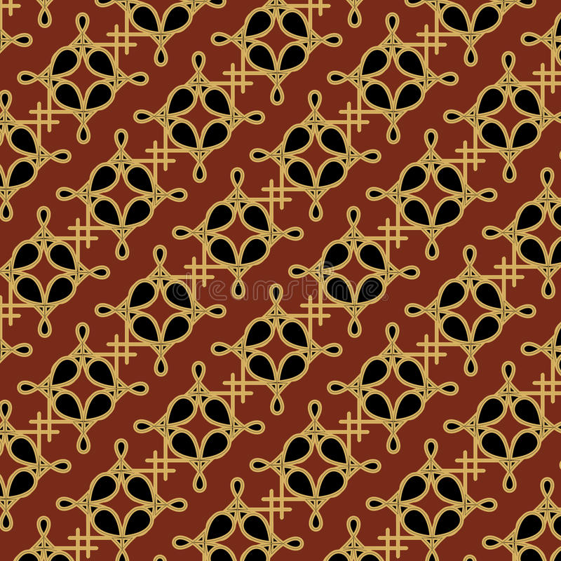 Seamless pattern with celtic ornaments royalty free illustration