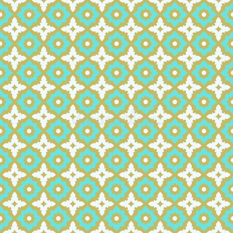 Seamless Pattern Ceramic Tile Design Stock Vector - Illustration of ...