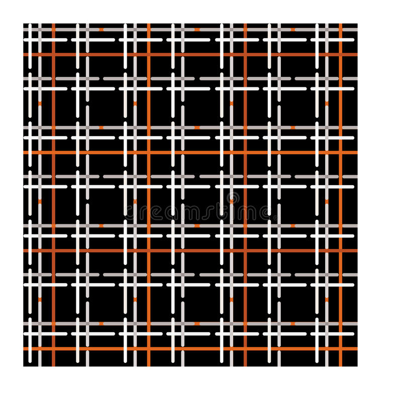Download Seamless Pattern Of Checkered Fabric Stock Vector - Image: 26239450