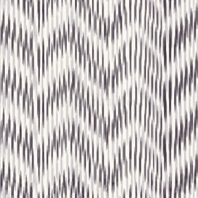 Seamless pattern hand drawn chevron stripe background. Animal skin texture allover print. Vector zig zag line art swatch vector illustration