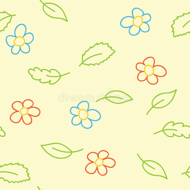 Download Seamless Pattern Of Childish Picture - Vector Stock Vector - Illustration: 20749001