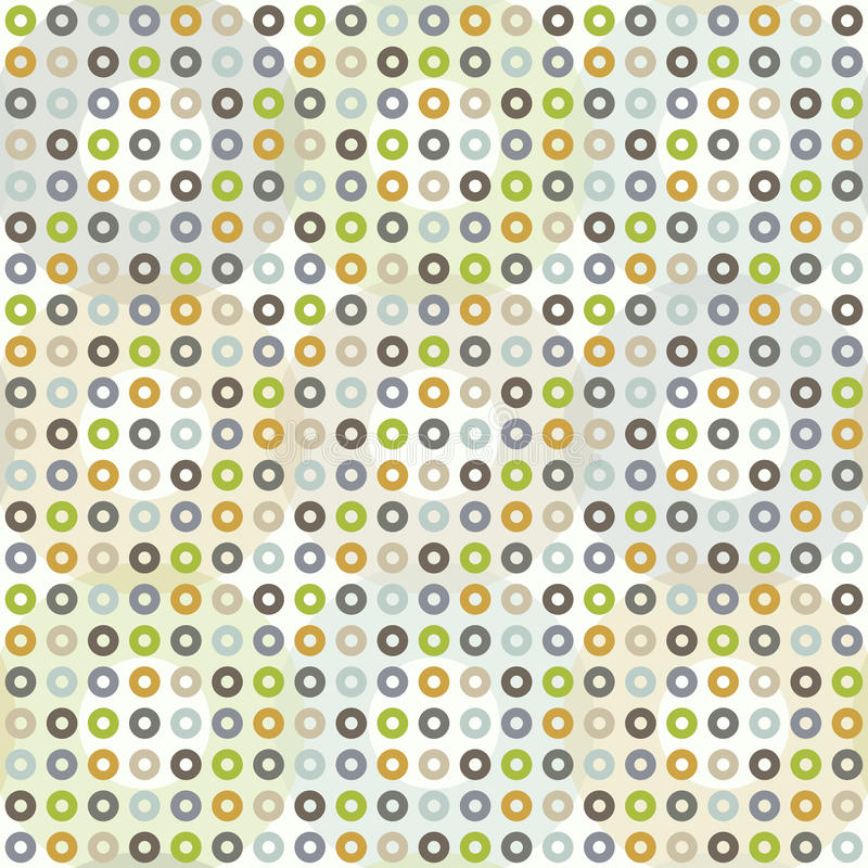 Download Seamless Pattern With Circles Stock Image - Image: 27623451