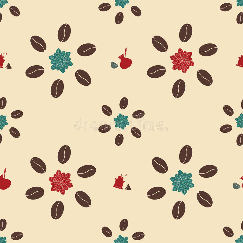 Download Seamless Pattern With Coffee Stock Vector - Illustration: 28140135