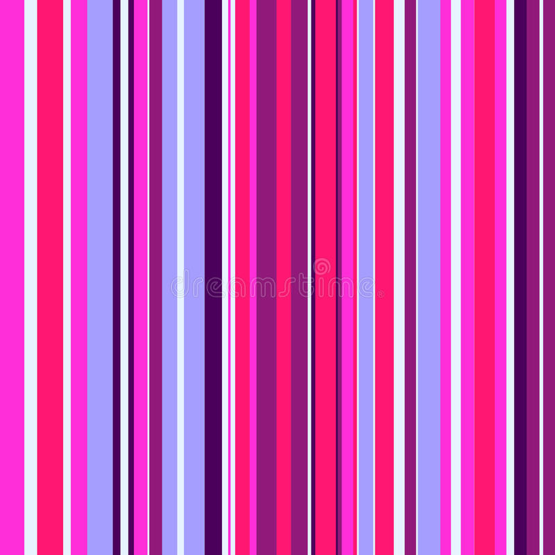 Seamless pattern with colorful stripes. Vector seamless texture for wallpapers, pattern fills, web page backgrounds stock illustration