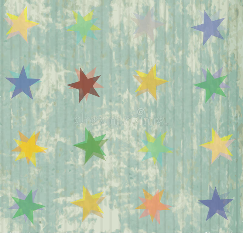 Download Seamless Pattern With Colorful Texture And Stars Royalty Free Stock Photography - Image: 25400157