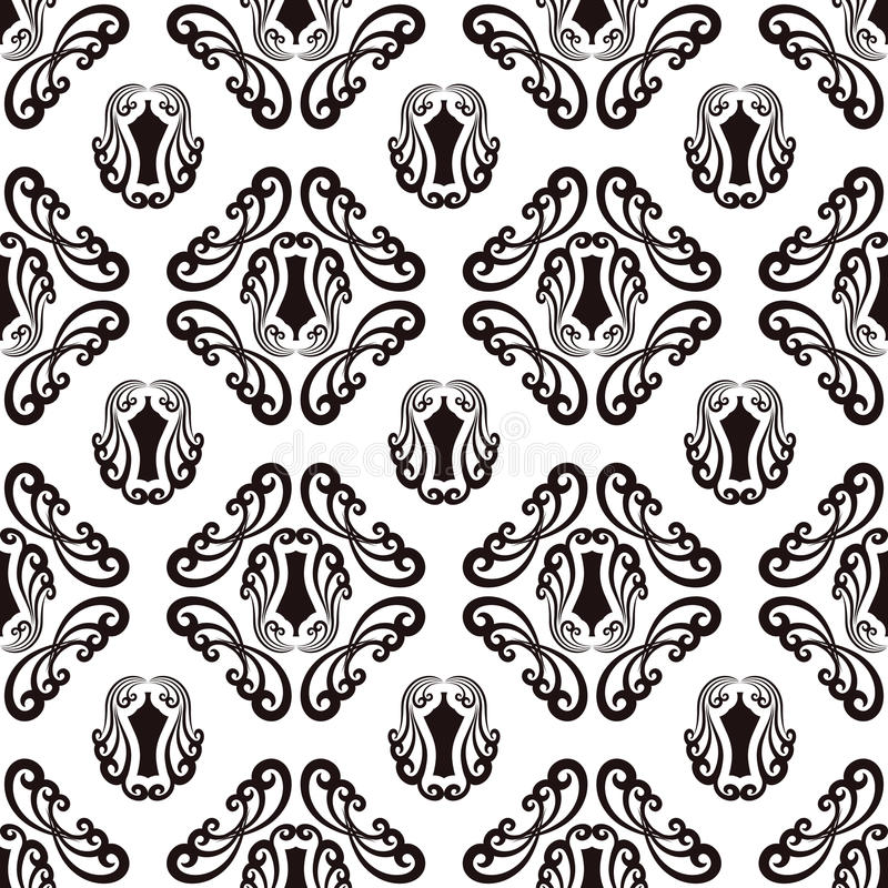 Download Seamless pattern stock vector. Image of pattern, baroque - 30607242