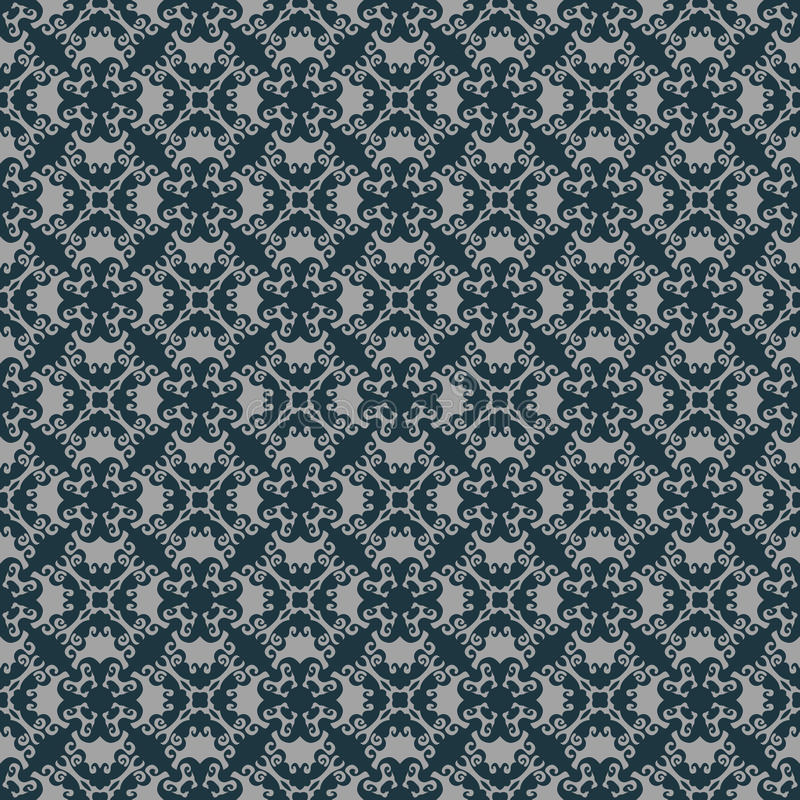 Seamless pattern design. A beautiful vintage pattern design made with style and creativity royalty free illustration