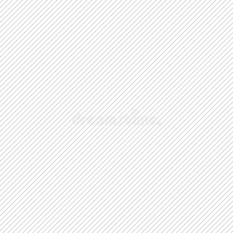 Seamless pattern with diagonal lines Абстрактный монохромный фон вектора бесплатная иллюстрация