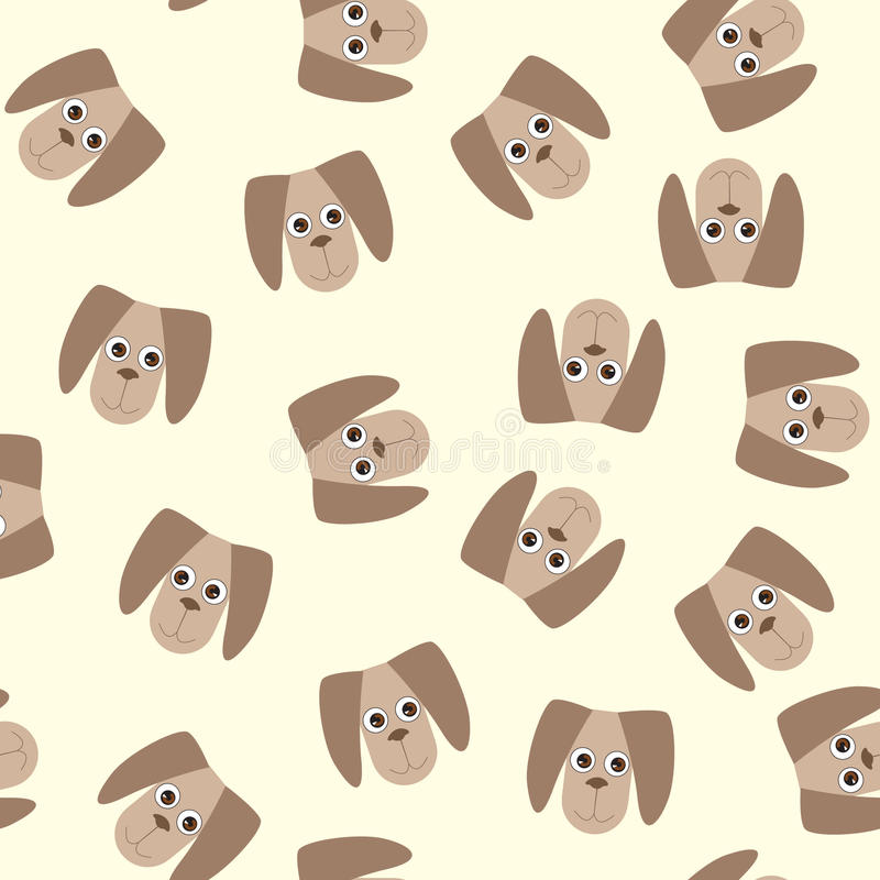 Seamless pattern with dog toys